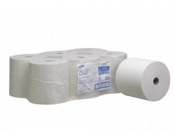Бумажные полотенца в рулонах, 354 м, белый