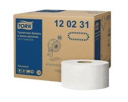 Туалетная бумага Tork Advanced в мини-рулонах