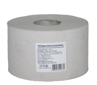 """Бумага туалетная однослойная """"Desna-Professional"""", белая, 170 метров"""