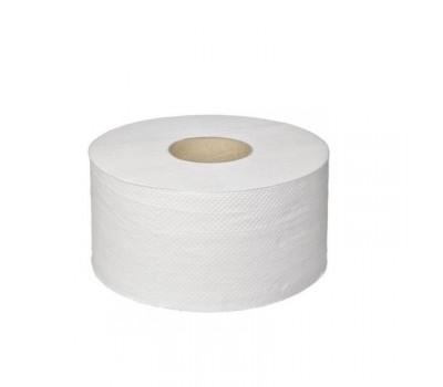 Туалетная бумага двухслойная, белая, 150 м.