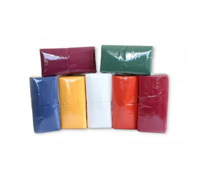 Салфетки бумажные с тиснением 1 слой 24*24 см 400 листов