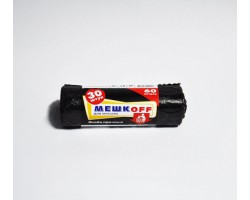 Мешки д/мусора 70х110 ПВД черный 120л 50 мкм