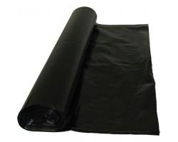 Пакет мусорный 120 л. прозрачный 40 мкм ПВД
