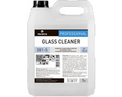 GLASS CLEANER Моющее средство для стёкол и зеркал